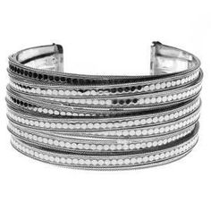 Anna Beck Jewelry - Timor Large Twisted Cuff - Silver