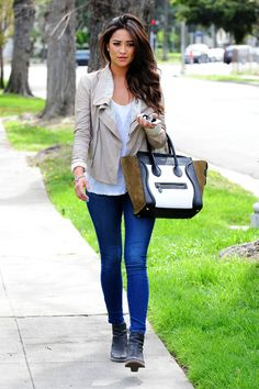 Shay Mitchell from PLL..Love her! Can I have her hair orrrrrr