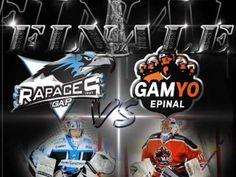 Gamyo Epinal - Hockey sur glace Epinal en Ligue Magnus