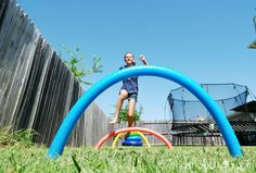 Backyard Olympics games: Hurdles and other game ideas from 7 on a Shoestring