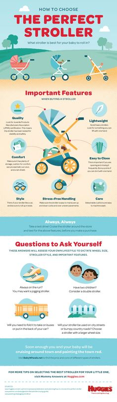 What stroller is best for you and baby? Check out tips on selecting the best stroller for your little one.