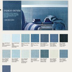 Ralph Lauren Indigo Denim Paint Colors