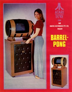 Atari Barrel Pong