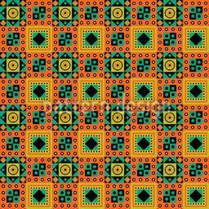 Illustration about Typical seamless african tribal pattern with earth colours. Illustration of gambia, african, geometric - 28172759 African Tribal Patterns, Indian Patterns, Ethno Design, Madhubani Art, Surface Pattern Design, Repeating Patterns, Vector Pattern, Vector Art, Printing On Fabric