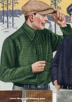 Flannel Shirt 1922
