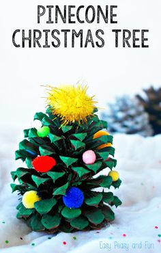 If you managed to gather pinenecones (or still can) why not make pineceone Christmas tree decorations? Simple to make and they do look oh so…
