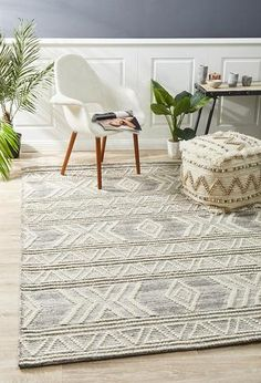 View Rug Culture Esha Woven Tribal Floor Area Rugs Silver Grey at Swan Street Sales. Shop online or visit our store for the largest range of Floor Rugs at the best prices. Transitional Rugs, Natural Rug, Round Rugs, Small Rugs, Large Rugs, Grey Rugs, Ivory Rugs, Tribal Rug, Woven Rug