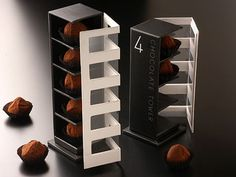 Packaging of the World: Creative Package Design Archive and Gallery: Gaku Abe Chocolate Boxes