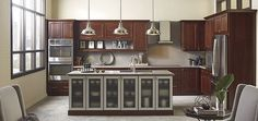 Buxton Cherry Brulee by Thomasville Cabinetry
