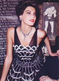 The Leading Lady I US Vogue I March 2006 I Model: Daria Werbowy I Editor: Grace Coddington I Photographer: Mario Testino.