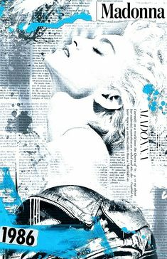 Madonna 11x17 Mini Poster by burning cross Like A Prayer