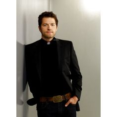 misha collins leather jacket - Google Search