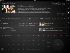 Loewe iPad app