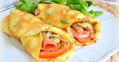 Crepes con jamón serrano y mozzarella fresca |Cocina con Marta