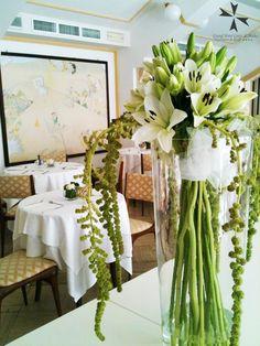 La Sala degli #Orologi ancora più bella con gli #addobbifloreali di Chiara.