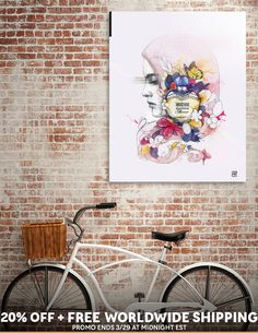 Discover «Moschino Parfum Illustration», Limited Edition Aluminum Print by Dmitriy Pogorelov - From $99 - Curioos