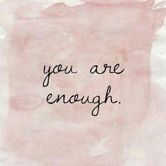 Sos suficiente ◇