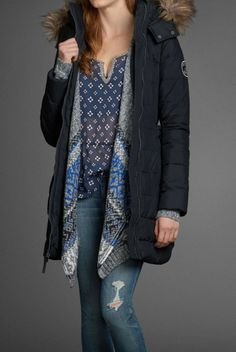 Warm up with this chic Bridget Parka!