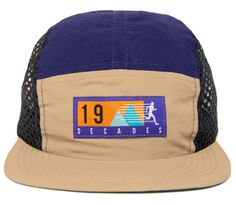 Crosstrainer #5panel by The Decades // Nylon with mesh side panels