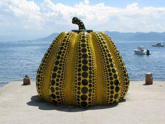 Yayoi Kusama Yellow Pumpkin
