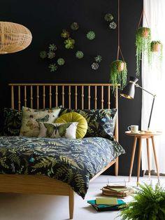 Plantas: ¡qué frescura! Coloca dos o tres macetas con helechos (no más) colgadas del techo