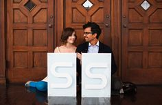 DIY ideas for a modern personalized wedding.Signs, clear confetti, the bar, wedding favors, and more!
