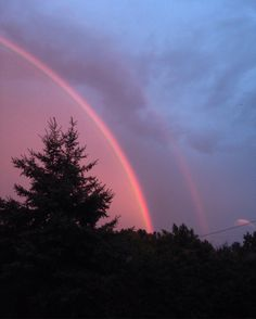 Rainbows seem to be my thing 🇨🇦 Rainbows, Celestial, Sunset, Nature, Pictures, Outdoor, Photos, Outdoors, Sunsets