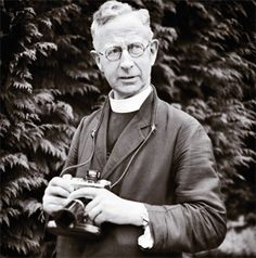 Father Browne...Fr. Browne was an avid photographer, and took photographs during his brief time on the Titanic. It was apparently the only set of photographs taken on board the ill-fated ocean liner on that one segment of her maiden voyage..