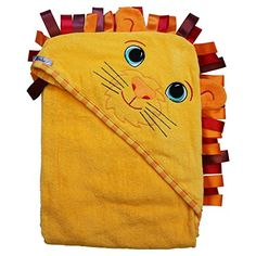 Super #cozy and adorable hooded bath towel makes bath time fun. Check out our other #velour animal designs for even more fun!