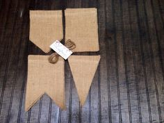 Items similar to DIY Burlap Banner Kit w/ Jute Twine, DIY rustic decoration banner for birthday wedding holiday party, Do It Yourself, Size Shape OPTIONS on Etsy Home Decor Sites, Home Decor Catalogs, Home Decor Online, Home Decor Store, Gypsy Home Decor, Diy Home Decor Bedroom, Home Wall Decor, Home Decor Furniture, Room Decor