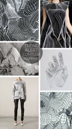 TREND ALERT: How Contour Mapping is Making it's Way into Fashion. Click here find out!