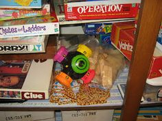 Works for Me Wednesday- game closet! Time to get it organized!