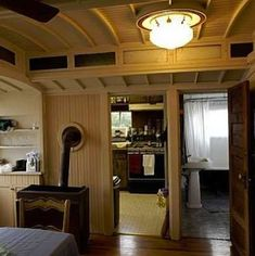 Converted Barn Home - Train Car Homes - 9 Creatively Converted Cabooses - Bob Vila