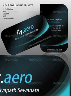 Fly Aero Business Card  #GraphicRiver         300 DPI  CMYK Layered PSD Print Ready Modern and Stylish     Created: 2February11 GraphicsFilesIncluded: PhotoshopPSD Layered: Yes Tags: airline #airport #aviation #black #blue #feather #floral #fly #flying #nightsky #slick #stylish #tail #waves #white