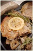 Pork Chops & Lemon Gravy