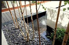 10 diseños de fuentes para jardines modernos en www.homify.com.mx/revista