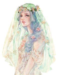 New Chinese Art Girl Posts 16 Ideas Anime Art, Watercolor Girl, Character Art, Illustration, Drawings, Art Girl, Art, Pretty Art, Beautiful Art