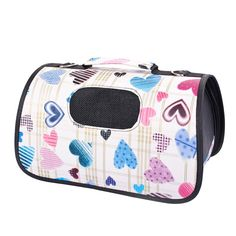 BUYITNOW Portable Pet Handbag Printing Pets Outdoors Carrier Shoulder Travel Bag for Dogs Cats *** Read more reviews of the product by visiting the link on the image. (This is an affiliate link) #CatCare