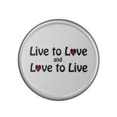 Live To Love Speaker