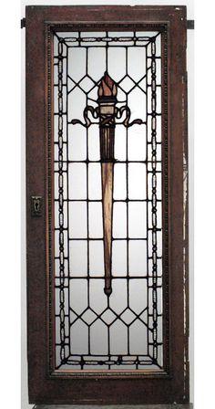 American Victorian architectural element window mahogany