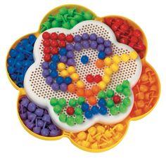 #Quercetti #toys Chiodini | Fantacolor Daisy Margherita