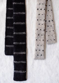 Father and Son Knit Ties | Purl Soho