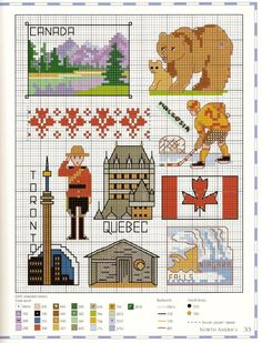 Travel the World in Cross Stitch AND W of CS 149 - - - Gallery.ru / Фото #86 - World - 123456TG