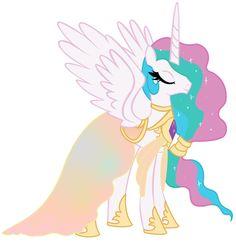 celestia s mother queen galaxia board my little pony princess