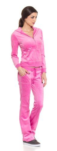 Cordiu Velour Hoodie Jkt & String Pants Track Suit Set for only $24.99 You save: $5.00 (17%)