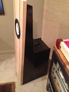 My Newly Built Zen Open Baffle Speakers