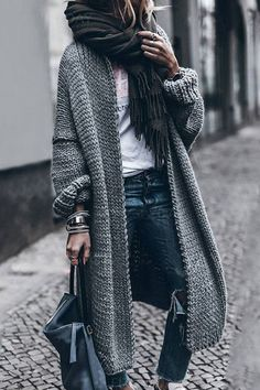 Pulls à manches longues - OOTD Inspo- Cute Outfit Ideas - Modes Casual Winter Outfits, Winter Fashion Outfits, Sweater Fashion, Fall Outfits, Autumn Fashion, Women's Casual, Spring Fashion, Fashion Boots, Casual Wear