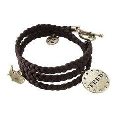 FEED for Target® Women's Braided Bracelet -Moss