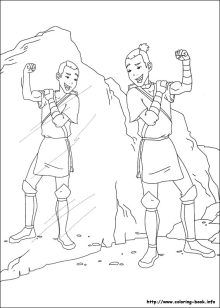 28 Best Avatar The Last Airbender Coloring Pages Images Avatar
