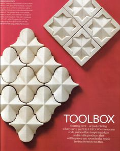 MOROCCAN TILE for backsplash or feature wall or hearth